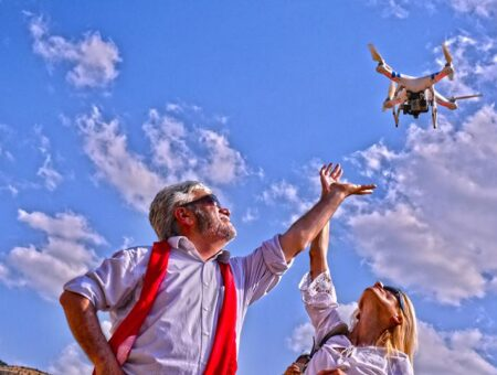 YOUTHS MEET WITH AERIAL PHOTOGRAPHY